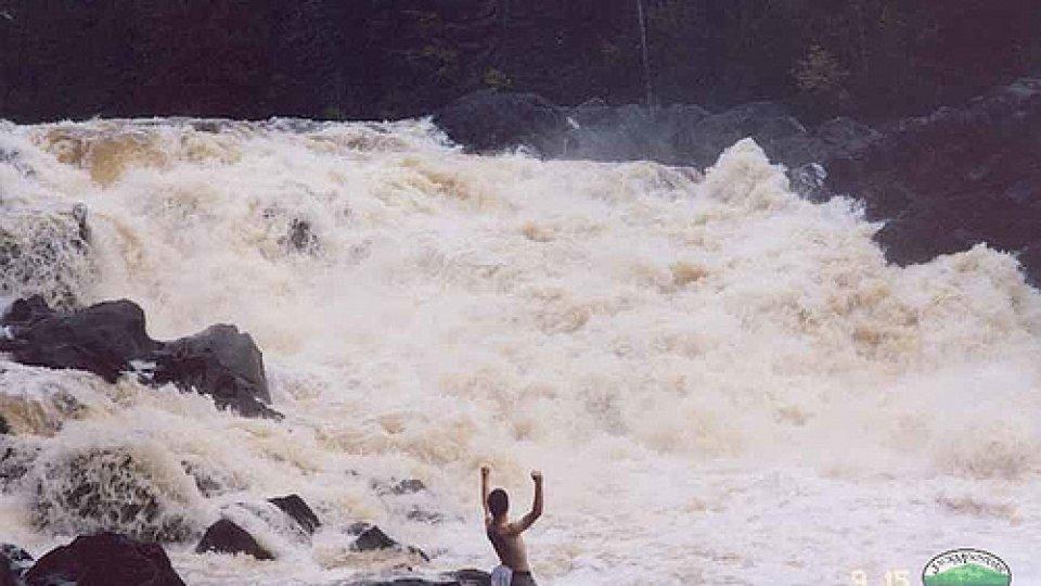 Allagash Falls At High Water