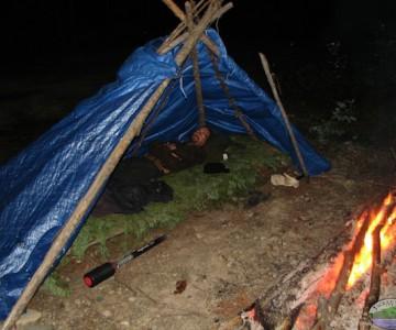Quadpod And Fire