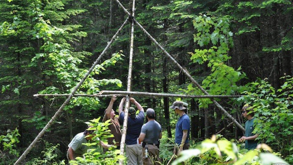 Defining Bushcraft – Video From Woodsmoke