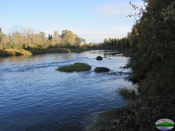 Aroostook River At Dusk