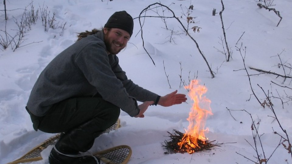 Winter Bushcraft Short Course For Kids And Parents