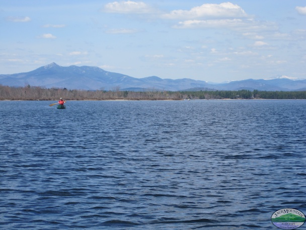 Chocorua Canoeing Backdrop