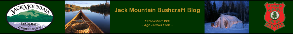 Jack Mountain Bushcraft Blog header image