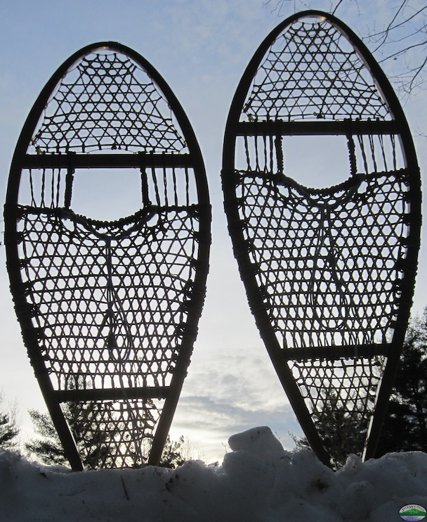 Snowshoes And Sky