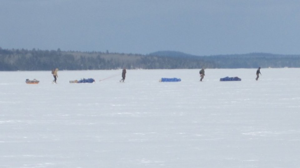 Back From The Boreal Snowshoe Expedition