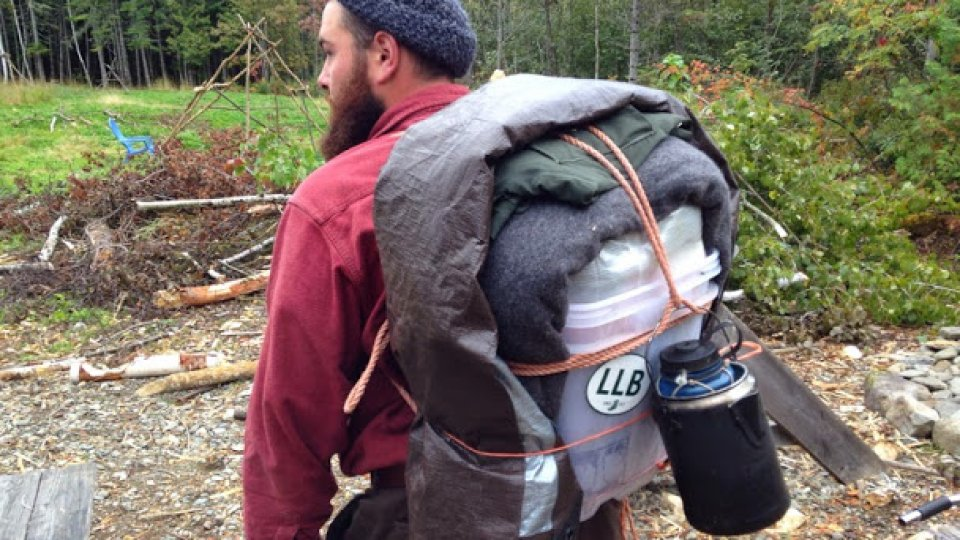 Leaving on a 3-day walkabout with homemade gear