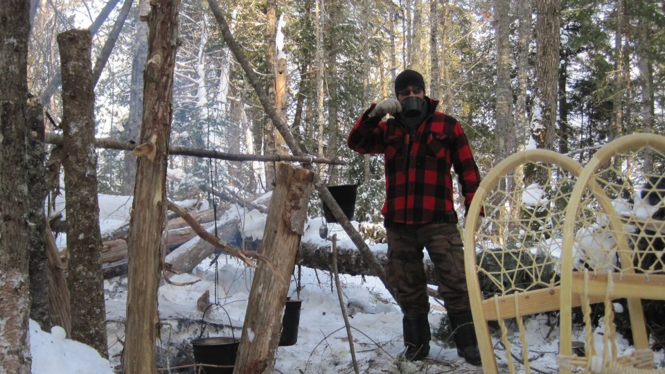 Frozen 48 Survival Challenge Immediately Following Winter Woodsman Course
