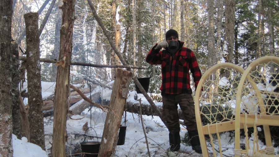 New Course: Lodge-Based Winter Bushcraft