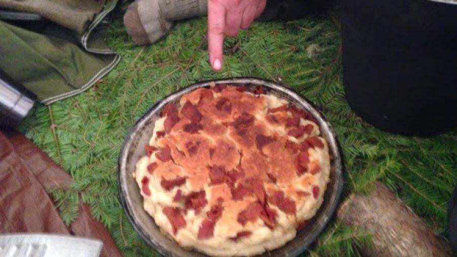 Bacon bannock