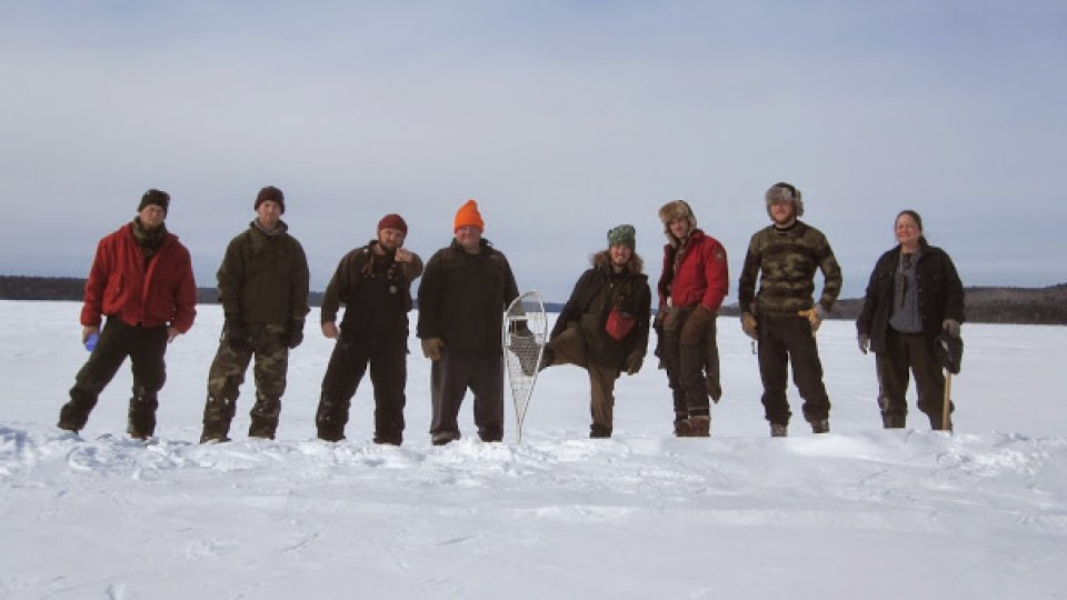 2015 Boreal Snowshoe Expedition Team