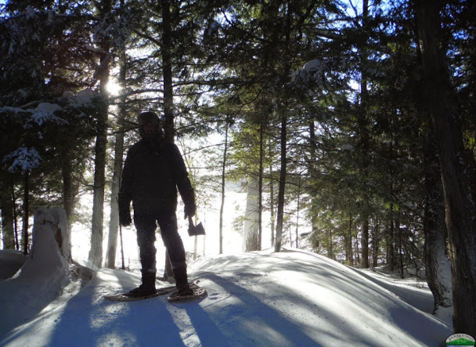 Boreal Snowshoe Expedition Gear Video