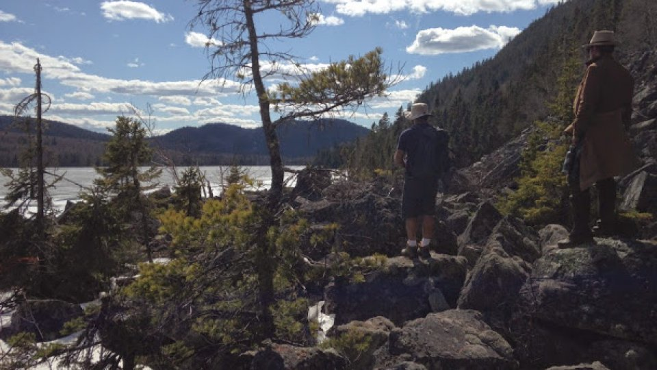 Great hike up Deboulie mountain in the north Maine woods Saturday