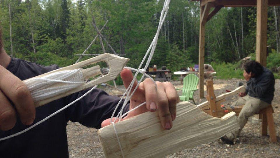 Wilderness Bushcraft Semester week 7: nets, hammocks, paddles and pack baskets