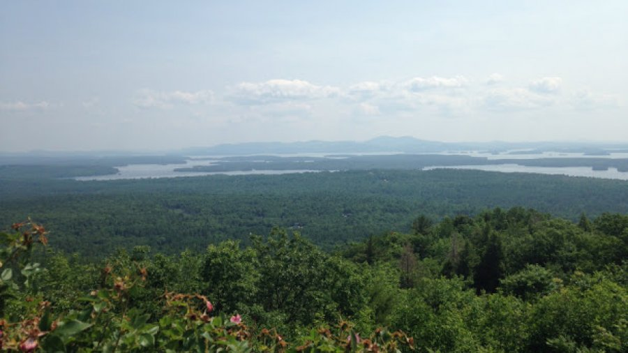 Spending the day with family in the Ossipee mountains