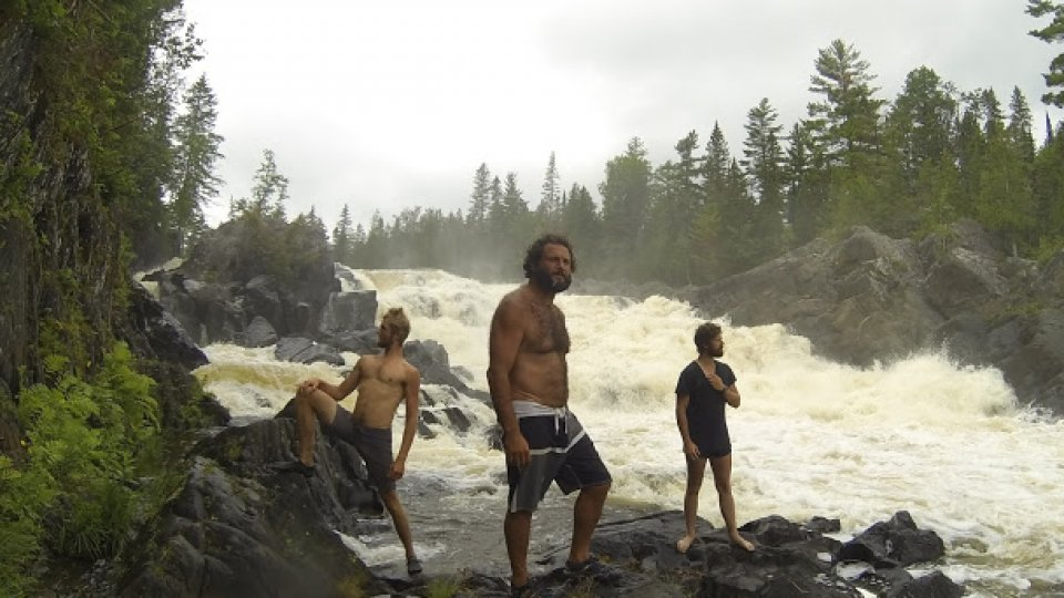 Allagash Falls – boyband album cover photo