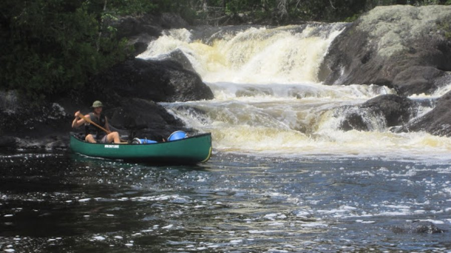 Little Allagash Falls