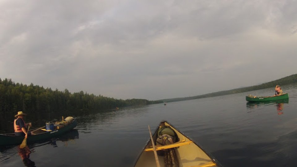 Paddling in the North Maine Woods