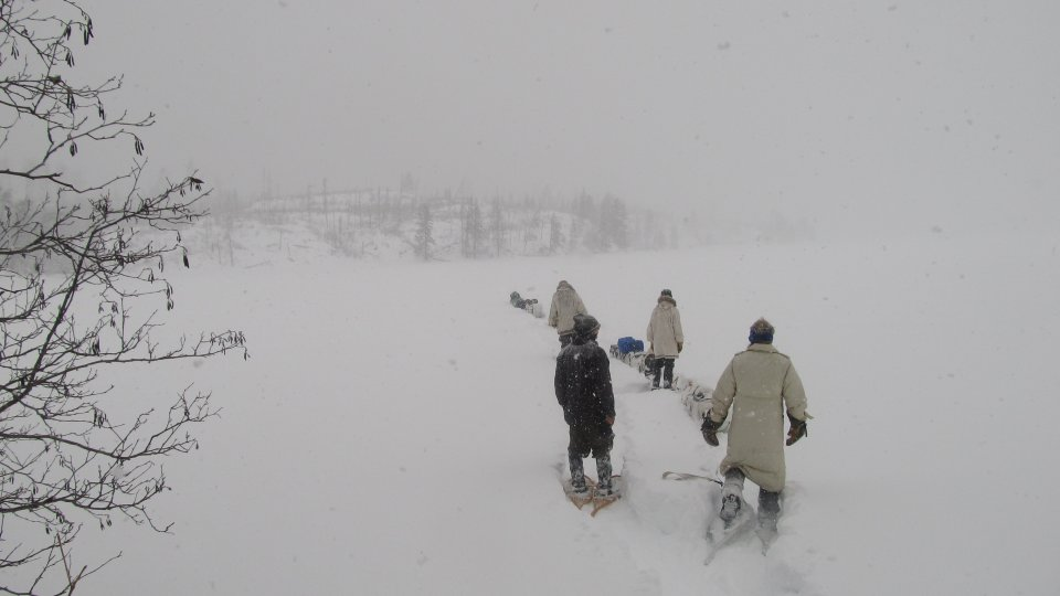 Race To The Lake   45 Day, 250+ Mile Snowshoe Expedition