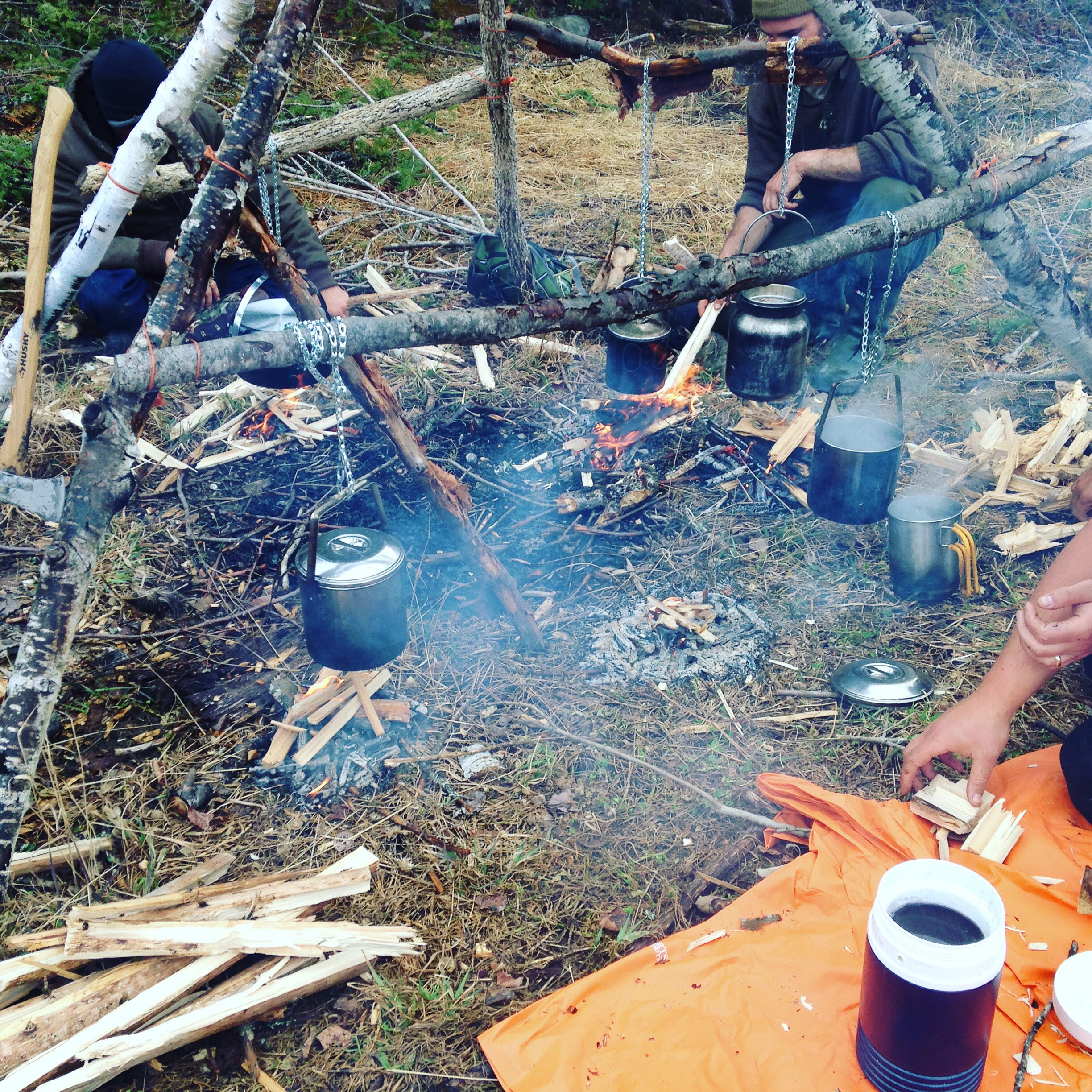 Autumn Woodsman Course November 4-10 | Cold-Weather Training With No Snow