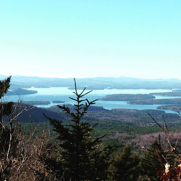 View from the summit of Copplecrown mtn