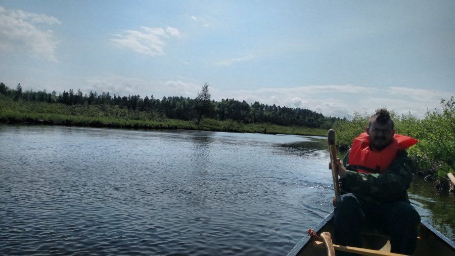 Canoe trip down the Aroostick River (Part One)