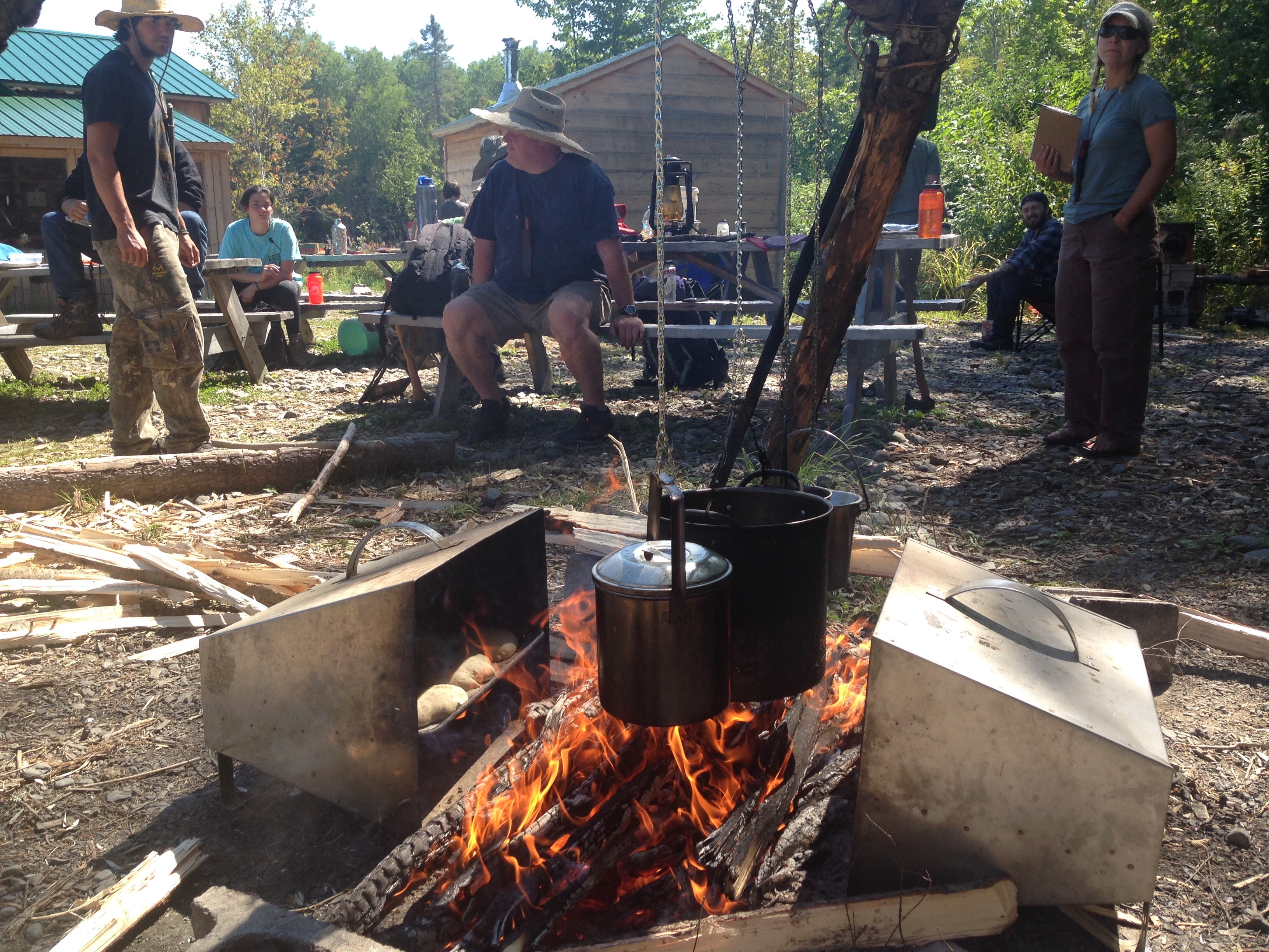 Maine Guide Campfire Cooking