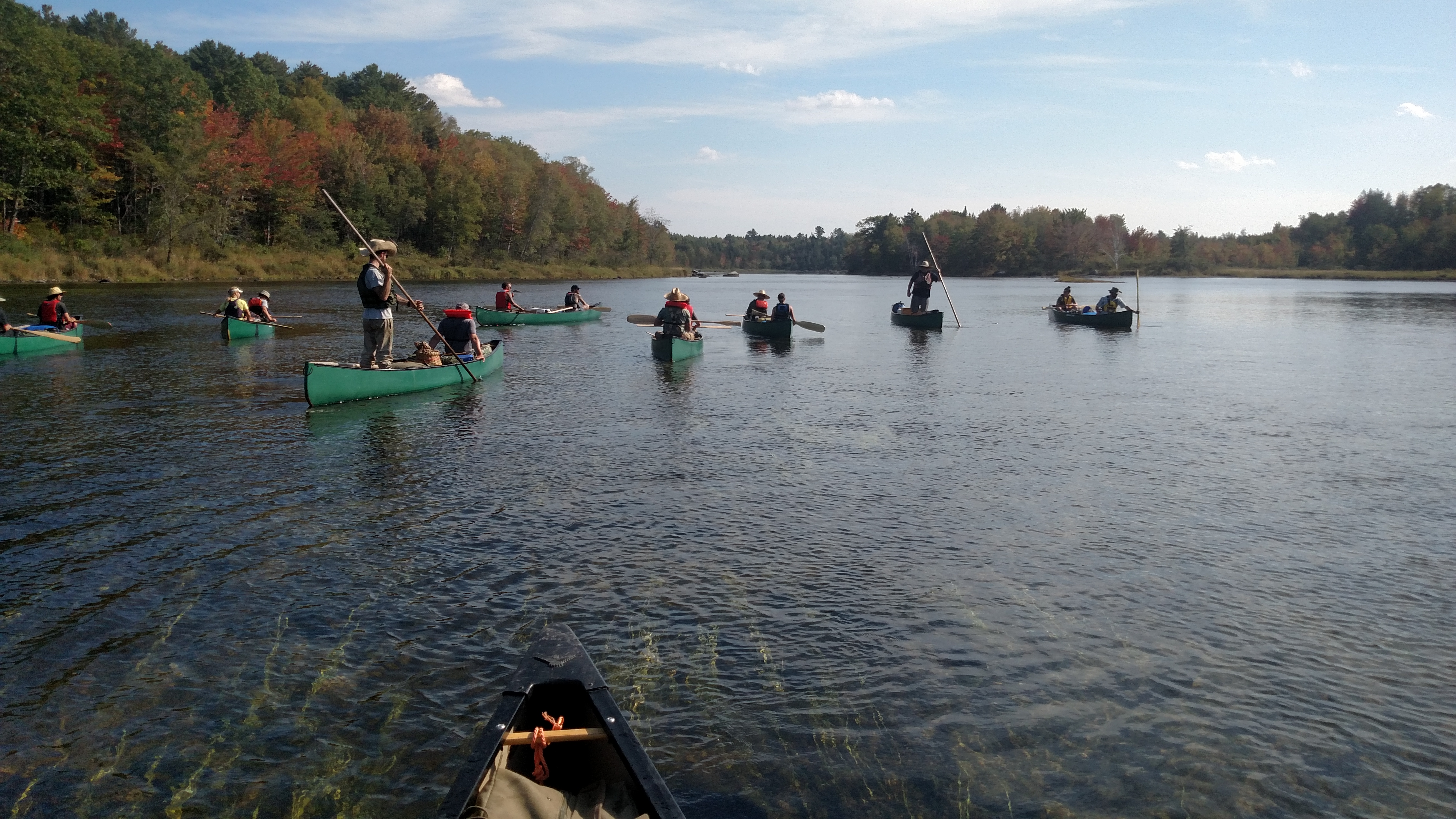 Wilderness Canoe Expedition Semester Begins Today