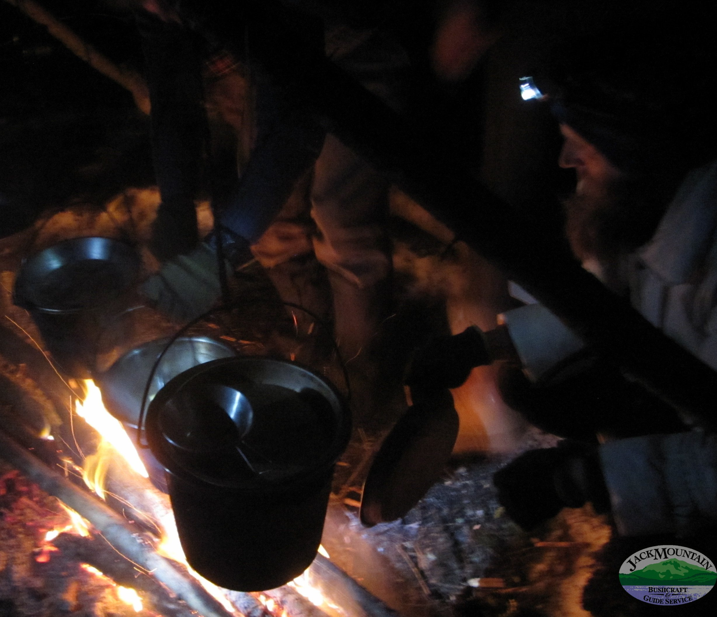 Hugging The Cook Fire
