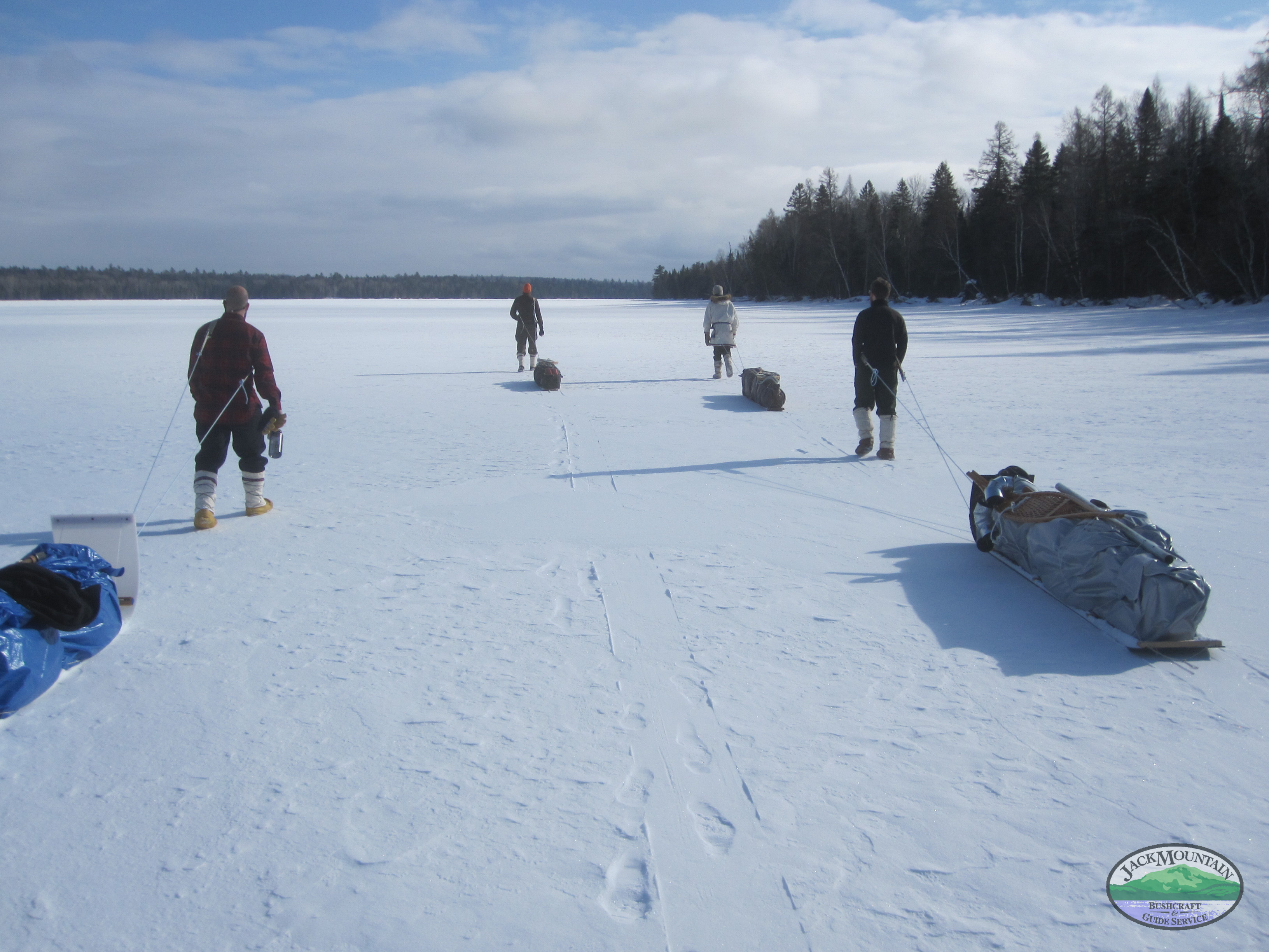 Podcast About The Boreal Snowshoe Expedition By 2 Participants