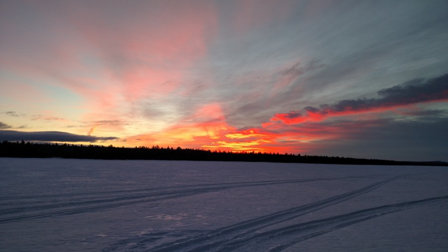 On The Experience Of Getting Outdoors In The Winter