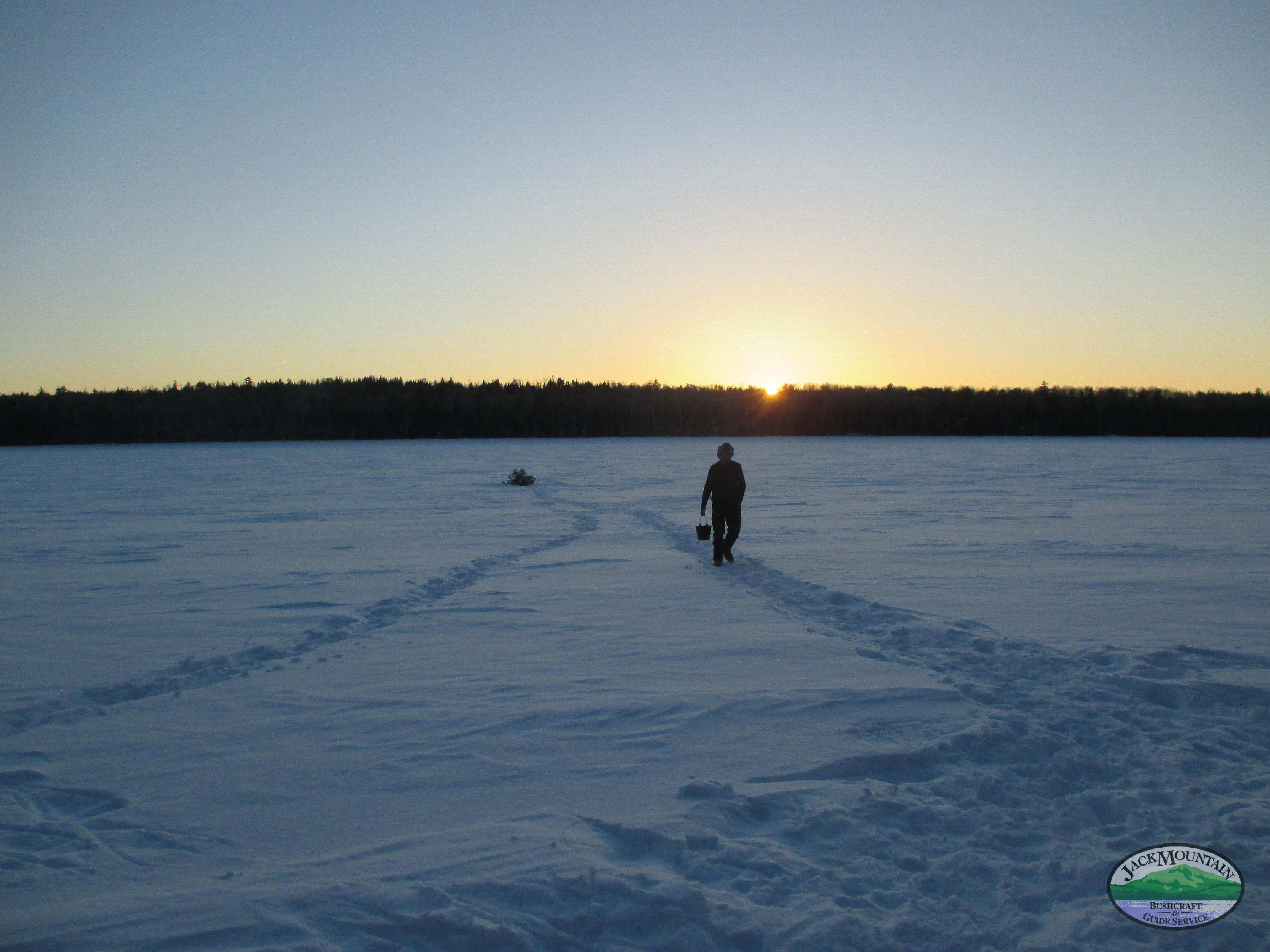 Remote Snowshoe Camp Walkaround
