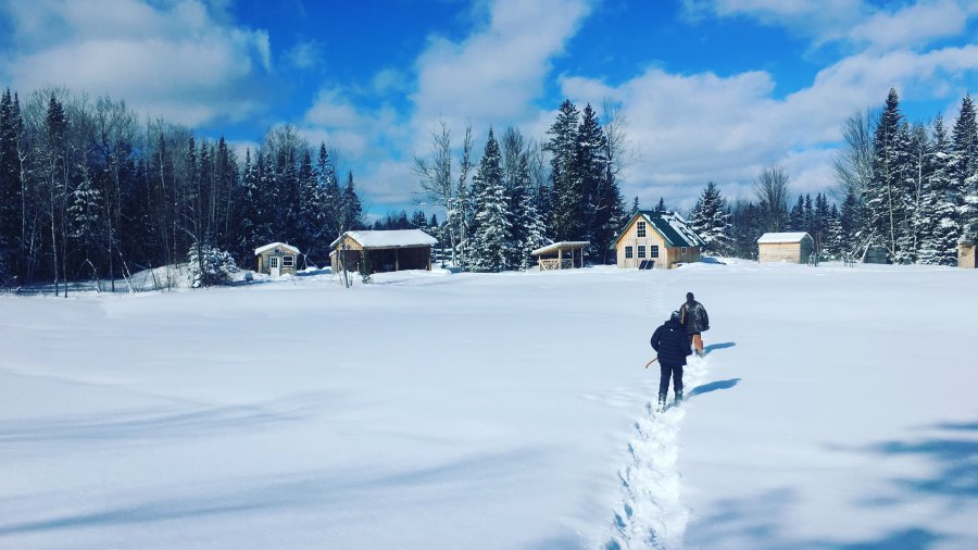 Living On Snowshoes