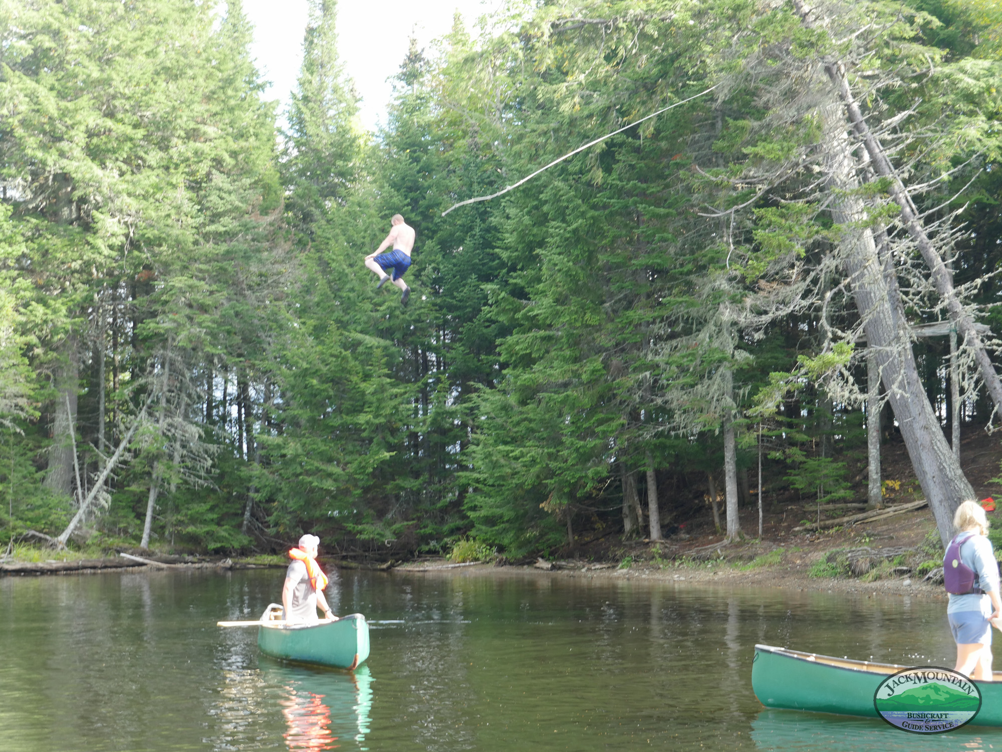Sad News - Rope Swing At Remote Camp Is No More