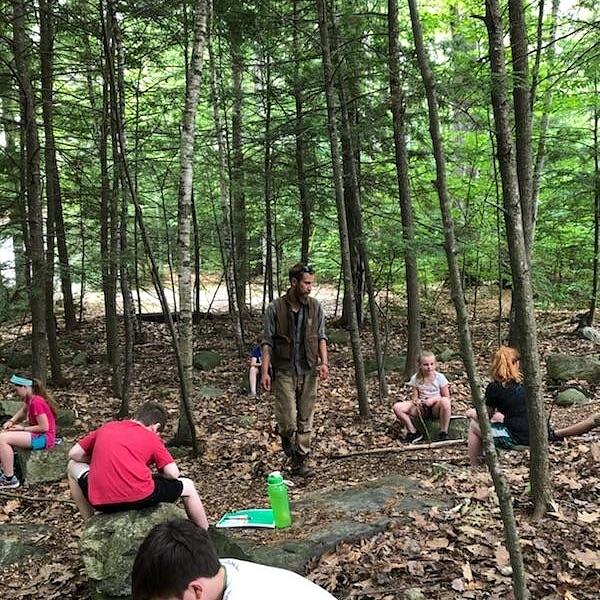Youth Bushcraft Summer Programming In Full Swing