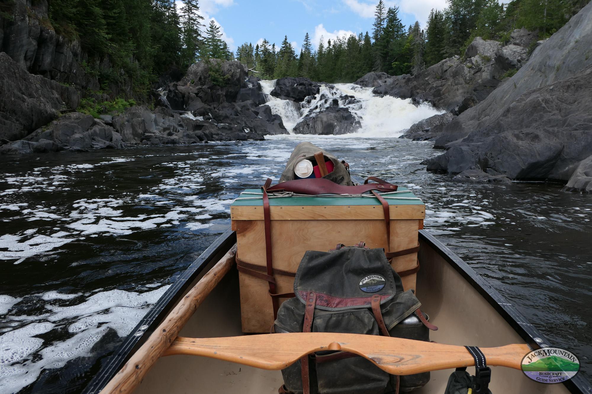 Night 1 Of The Wilderness Canoe Expedition Semester | JMBV 97