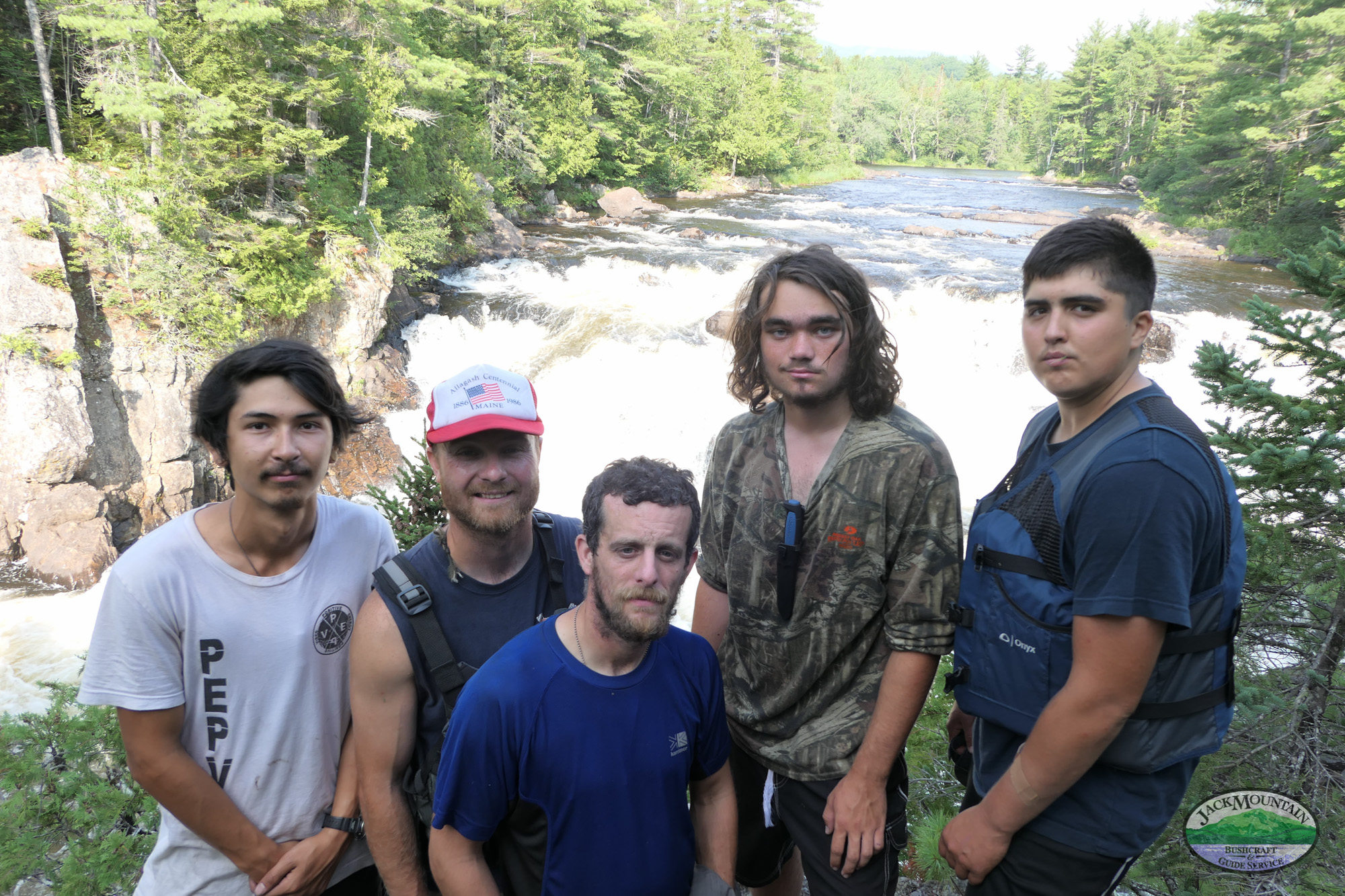 Grand Pitch, East Branch of the Penobscot | JMBV 100