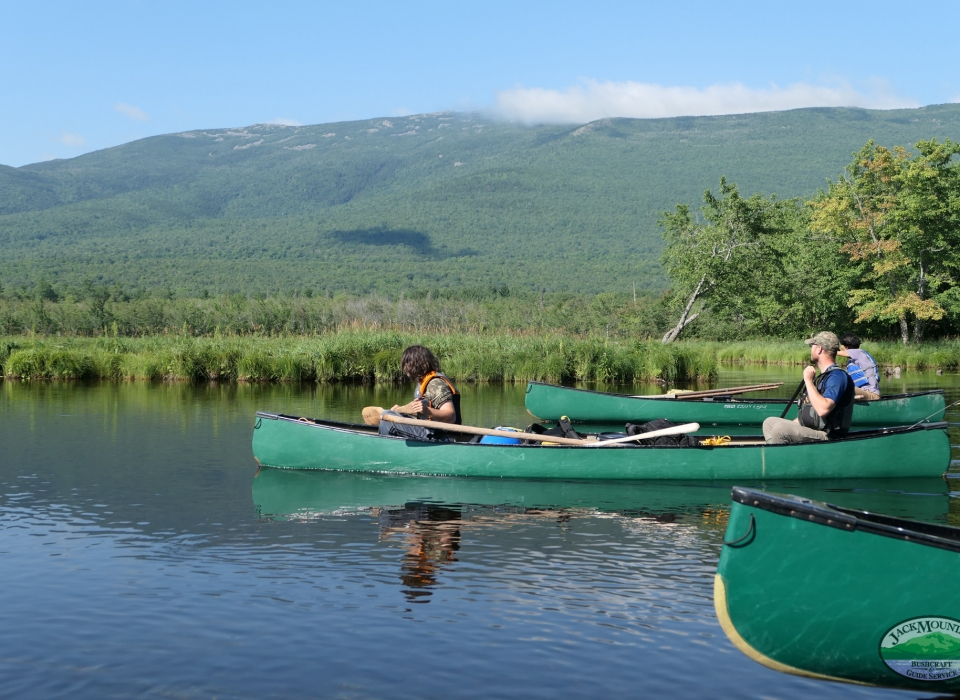 East Branch Penobscot, Traveler Mountain In The Background