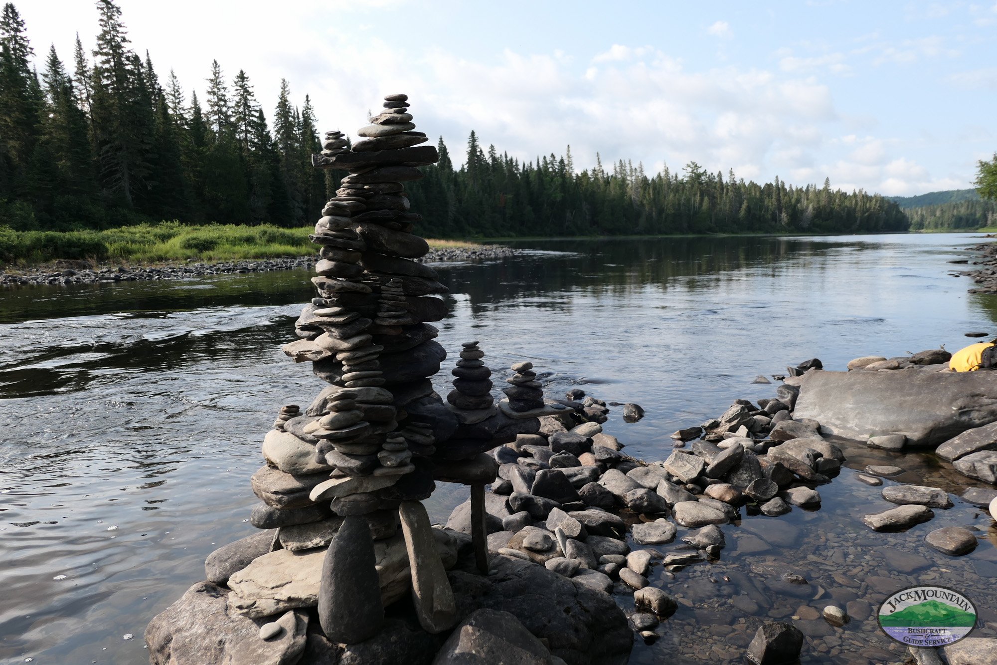 Cairn On The Allagash