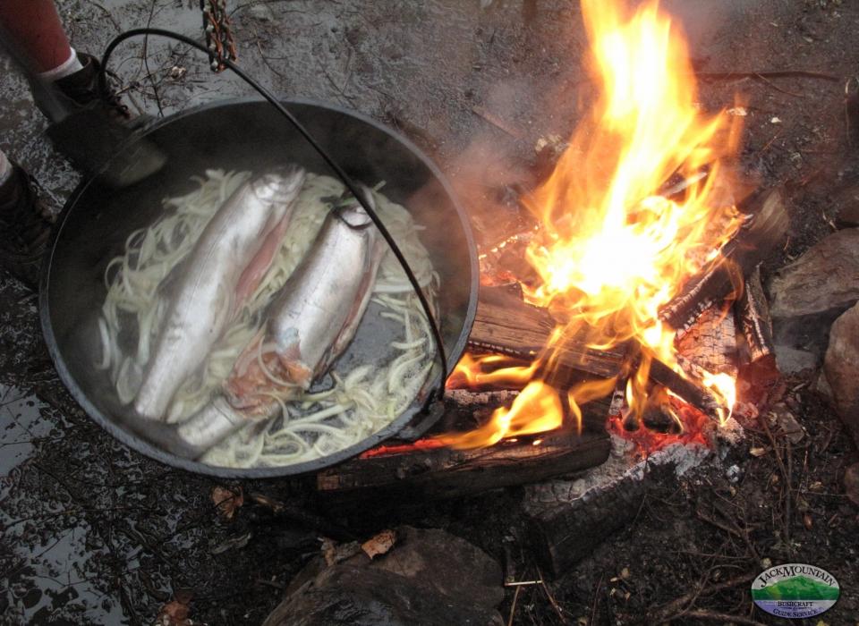 Dutch Oven Salmon