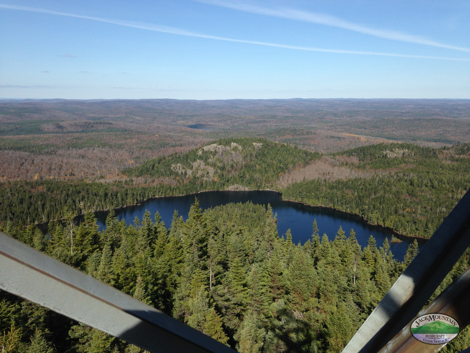 North Maine Woods View From Fire Tower