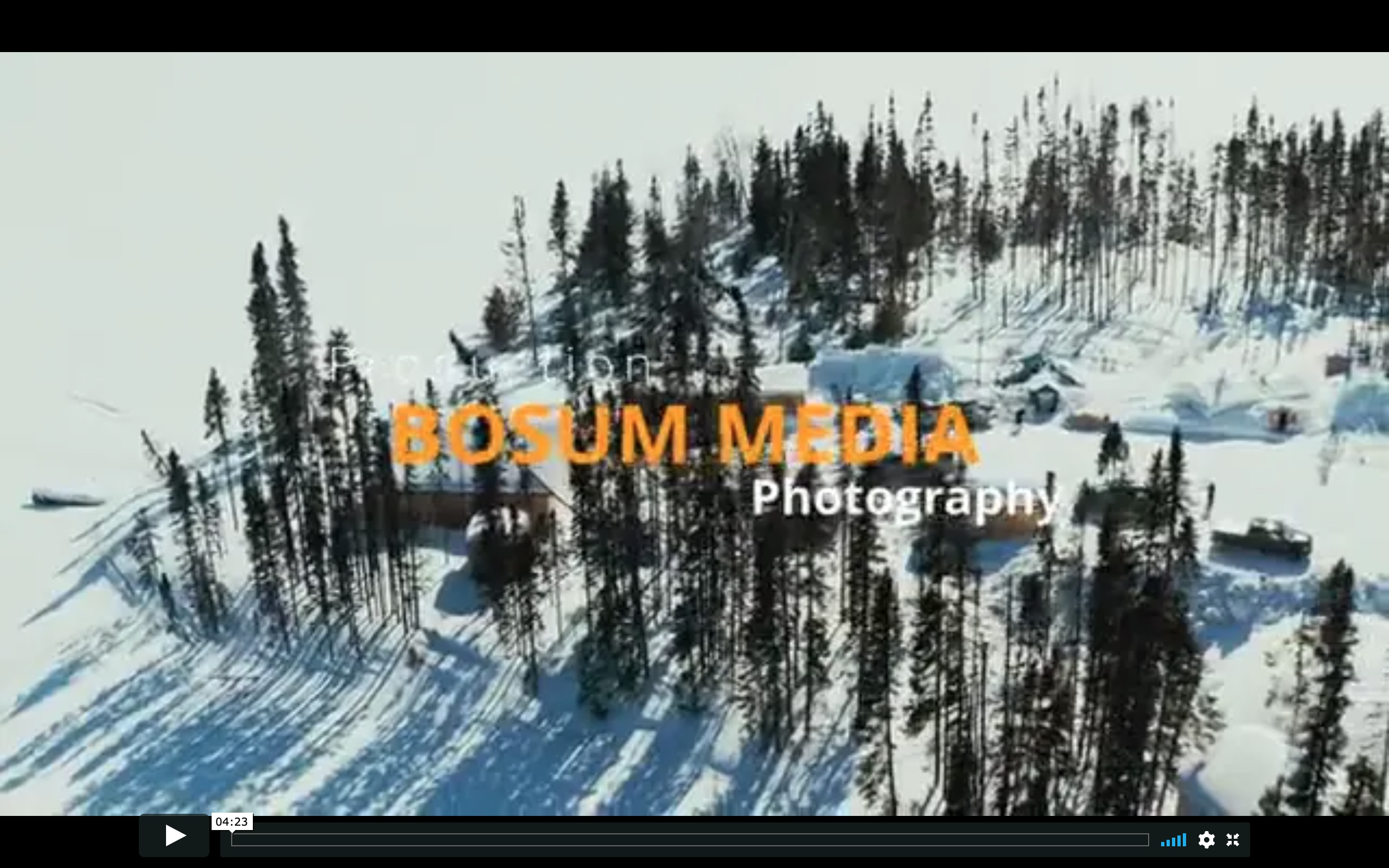 Winter Living With The Cree In Northern Quebec, March 2020