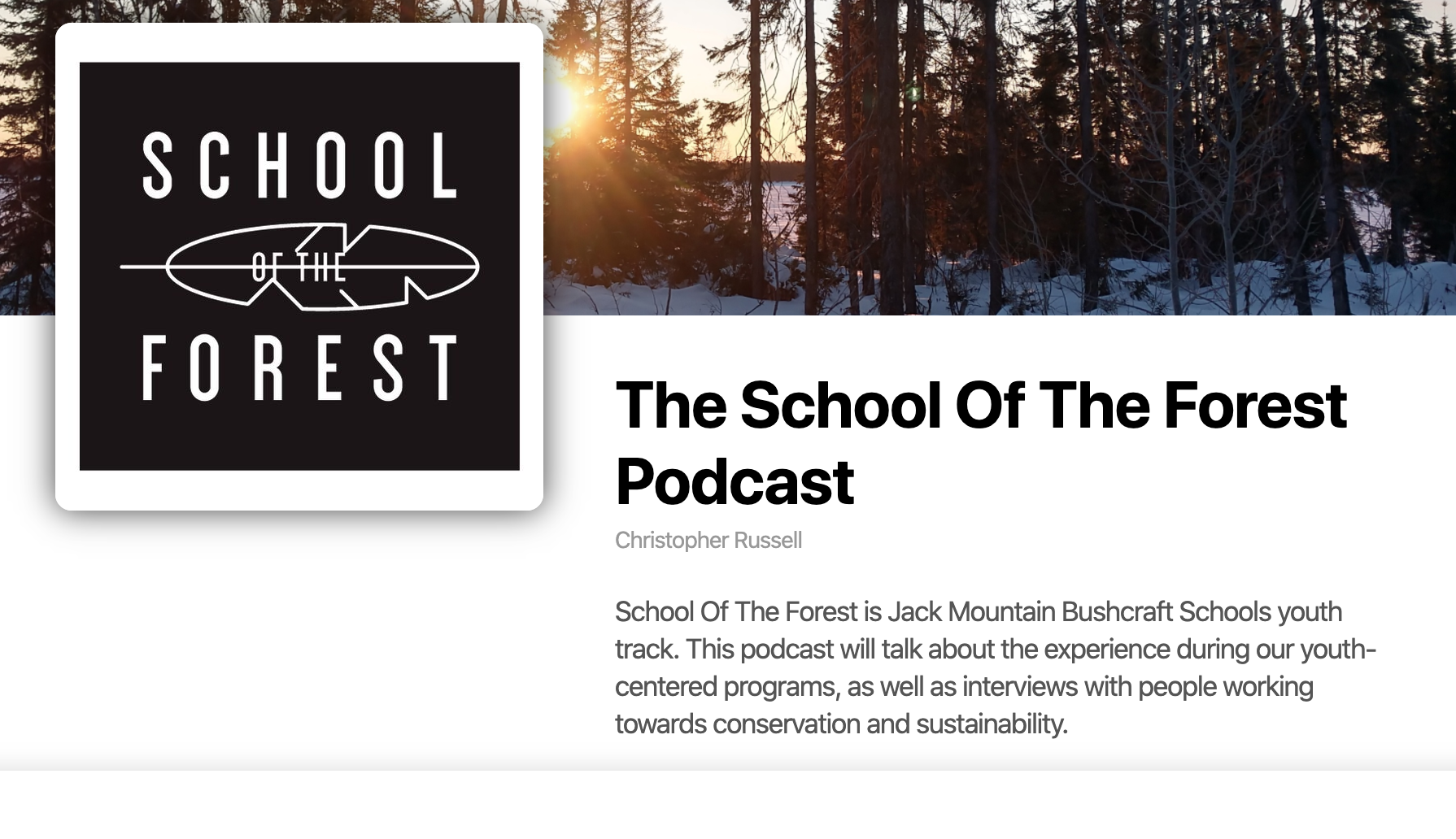 New School Of The Forest Podcast | JMB Podcast Episode 85