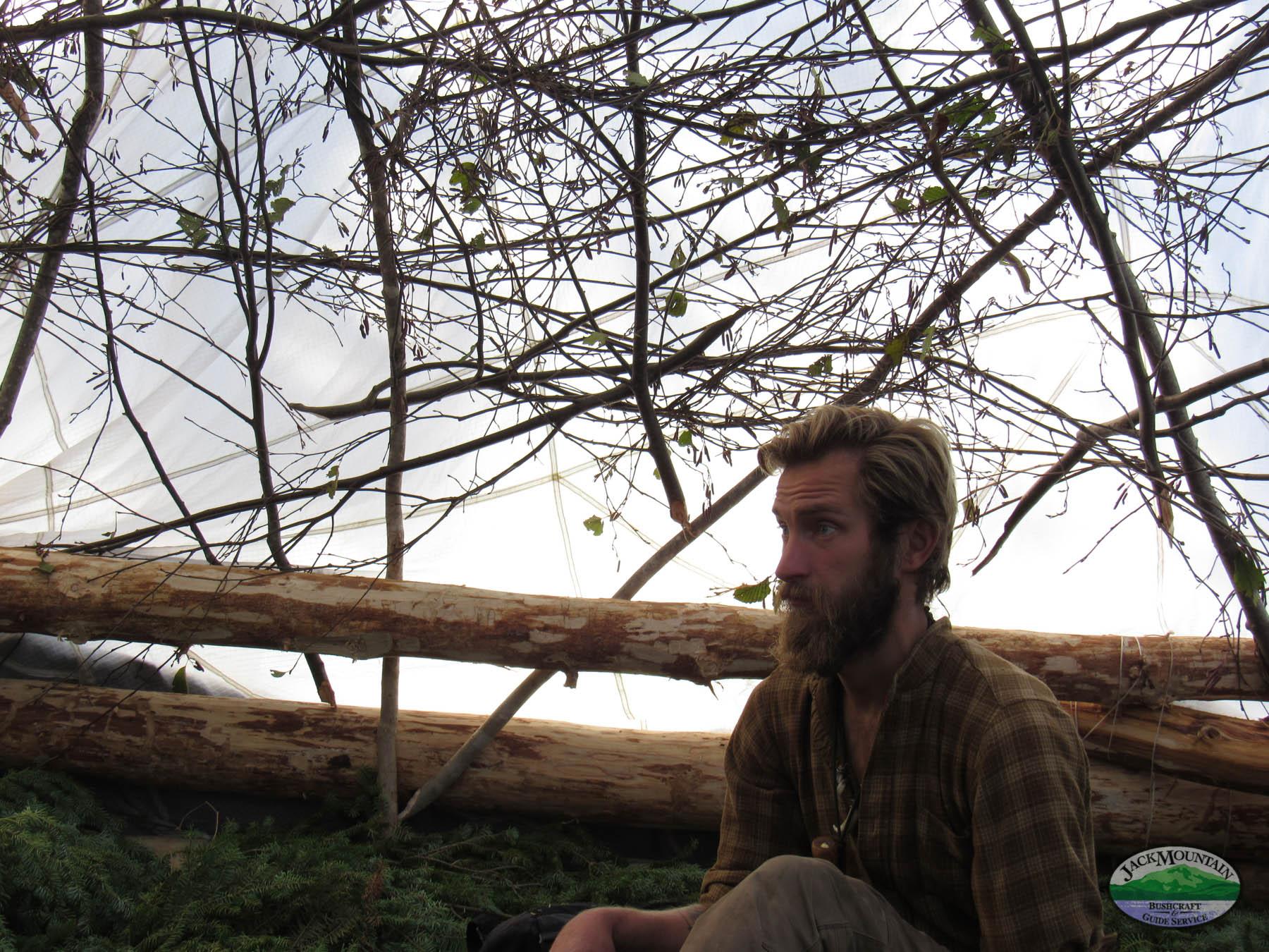 Group Shelter Building For The Fall 2020 Bushcraft Semester | JMB Vlog 120