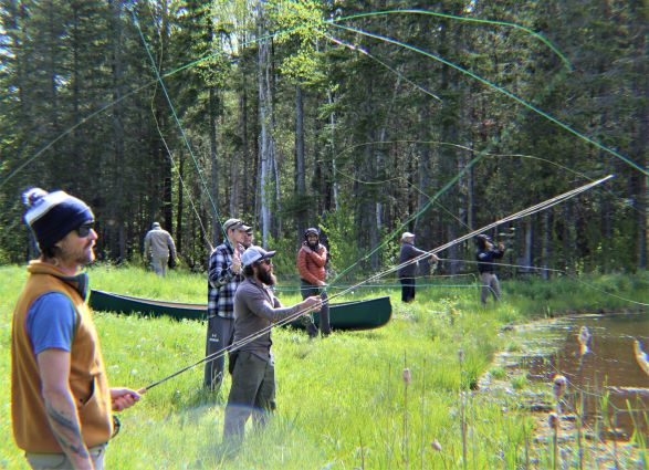 Introduction To Fly Fishing Weekend Course With Master Maine Guide Paul Sveum