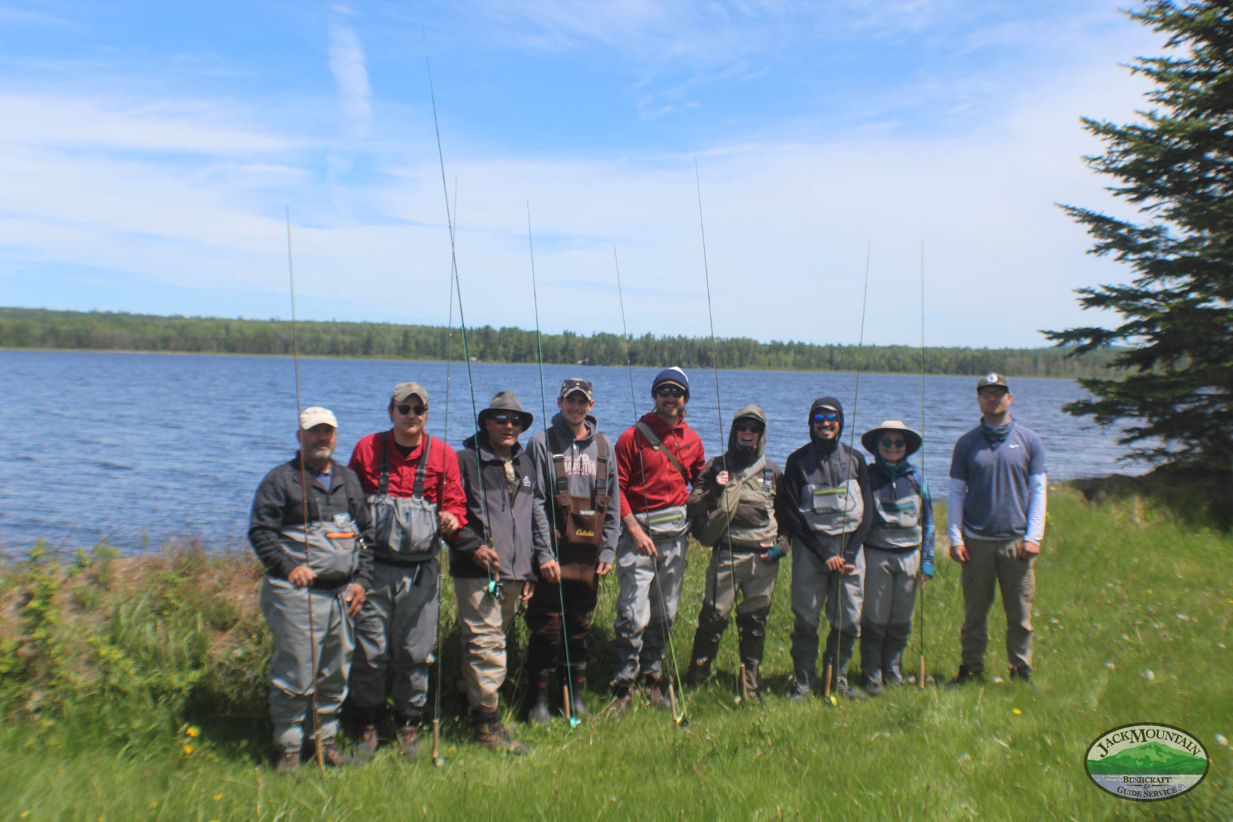 Fly Fishing Class Photo, May 2021