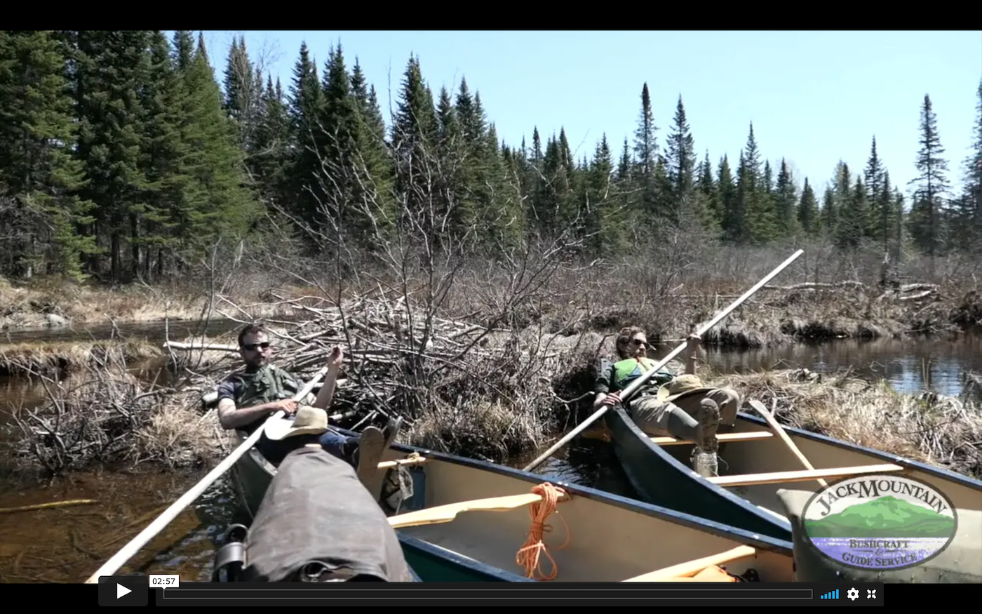 Poling Canoes, Blackwater River | JMB Vlog 128