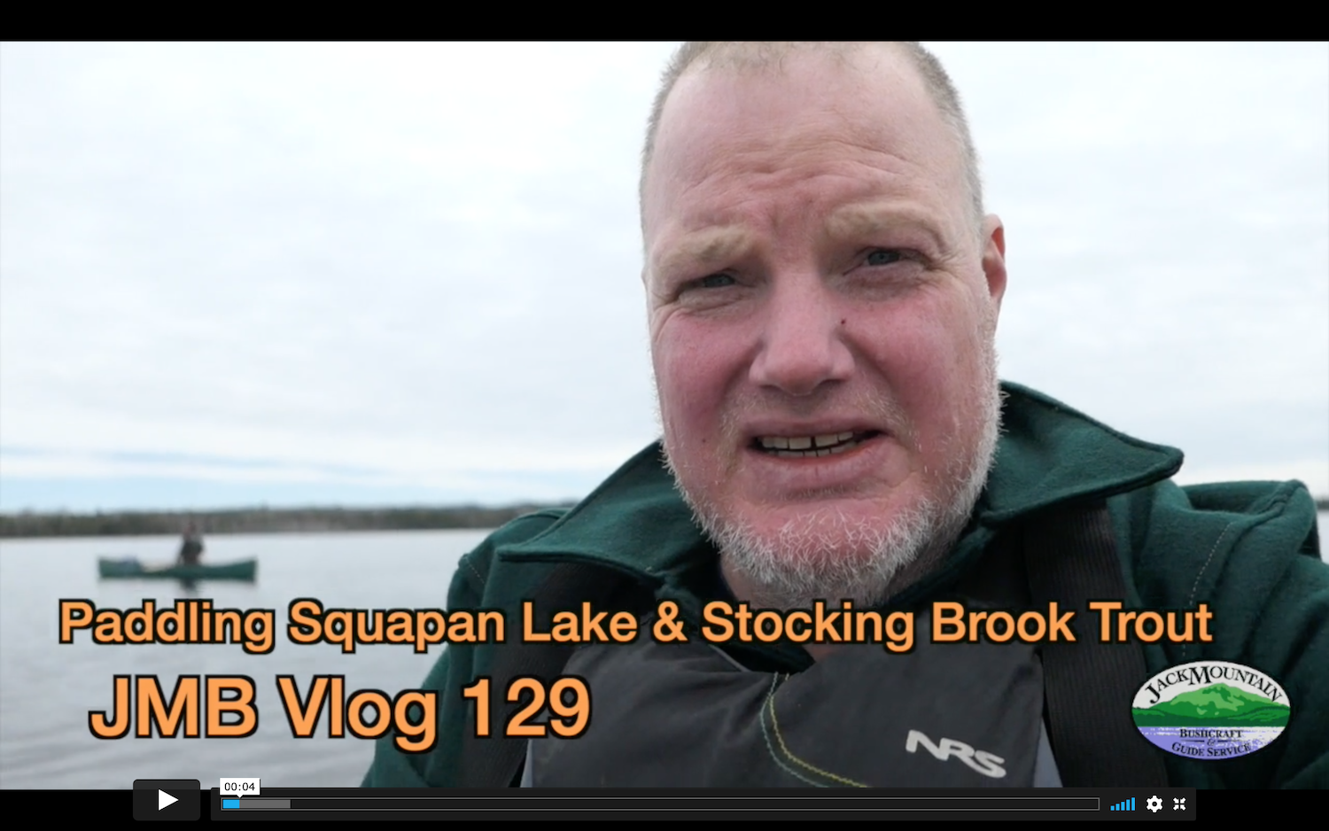 Paddling Squapan Lake & Stocking Trout | JMB Vlog 129