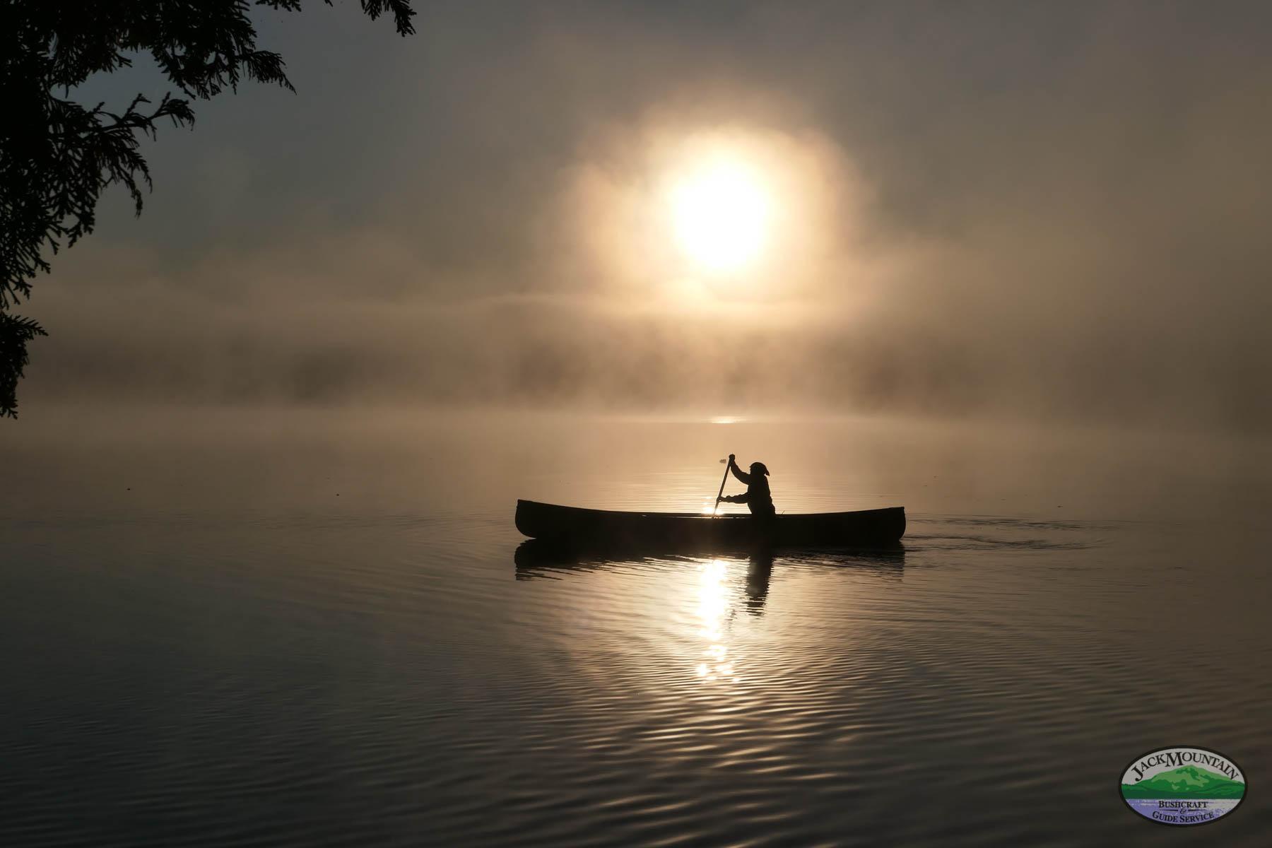 Paddling As The Sun Rises