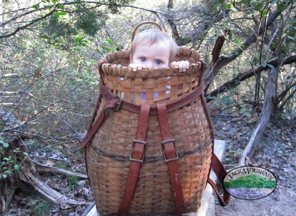 Kid In Pack Basket, Ten Years Later