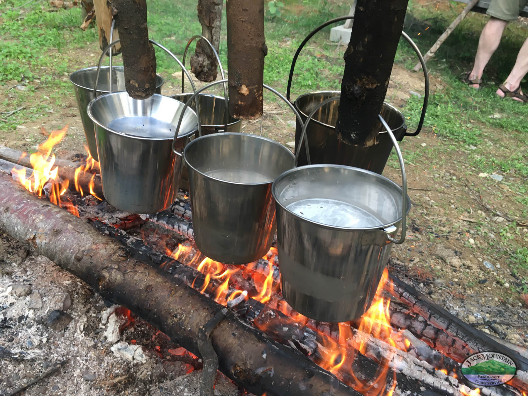 New Pails On The Fire